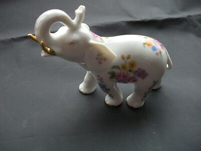 PG Brand Porcelain Elephant figurine Handcrafted in Malaysia