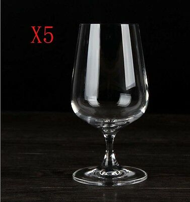 New 5X Capacity 380ML Height 151MM Transparent White Wine Glass/Glassware %