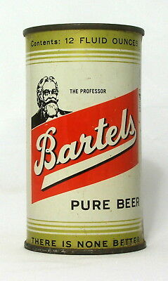Bartels Pure Beer 12 oz. Flat Top Beer Can-Edwardsville, PA.