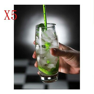 New 5X Capacity 355ML Height 158MM Transparent Cocktail Wine Glass/Glassware %