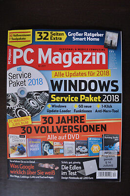 PC Magazin 12/2017 - WINDOWS Service Paket 2018