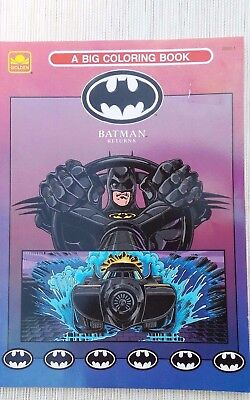 Beautiful Batman Returns Coloring Book Images