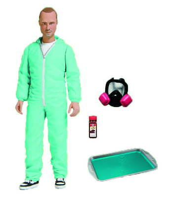 BREAKING BAD JESSE PINKMAN IN BLUE HAZMAT OUTFIT SUIT 15cm Figur NEU+OVP