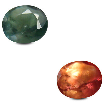 0.63 ct Dazzling Oval (5x4 mm) Un-Heated Color Change Alexandrite Loose Gemstone