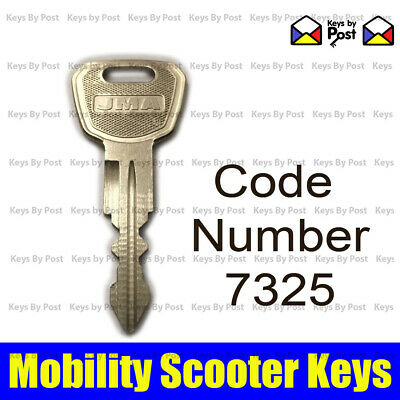 7325 SPARE REPLACEMENT KEY FOR Days Strider Micro and Mini, TGA Eclipse