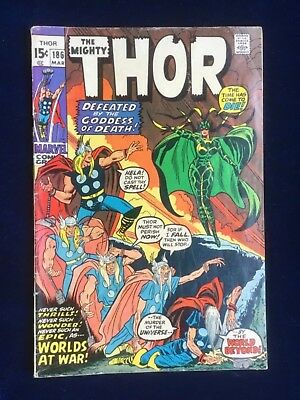 Thor (1st Series Journey Into Mystery) #186 1971 VG+