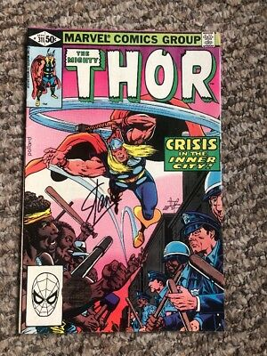 Stan Lee Signed The Mighty Thor Sept 311 Authentic Excelsior Hologram