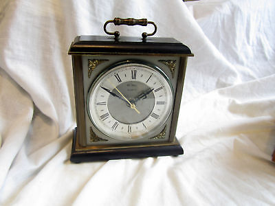 A Vintage Metamec Of Norfolk Heavy Mantel Clock