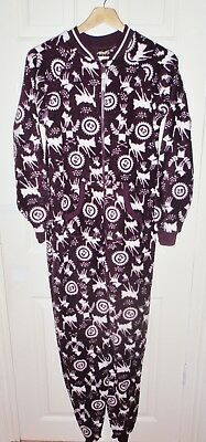 BNWT Primark womens Disney BAMBI fleece all in one pyjama set size UK 6 - 8