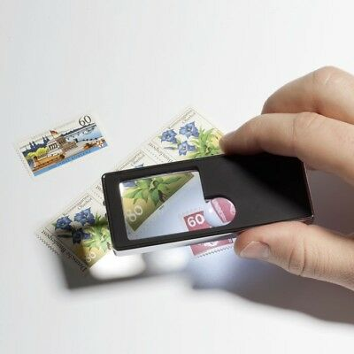 New 5-in-1 Lighthouse Pocket Magnifier with LED and UV 339919 (LU175)