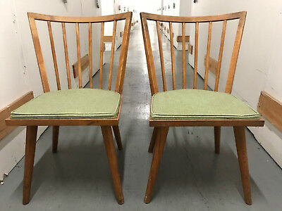 Pair Of Conant Ball Russel Wright Chairs Mid Century Modern