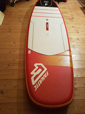 """Fanatic Stubby AIR 2016 Inflatable SUP 8'6"""" mit 3-teiligem Paddel"""
