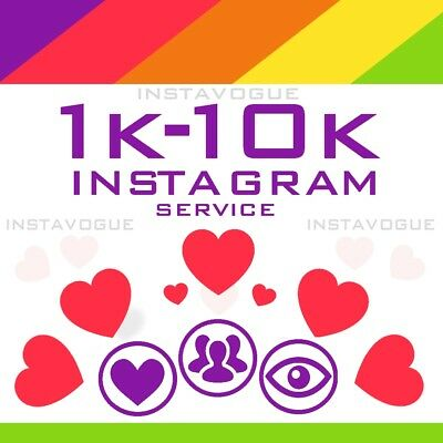 Instagram Followêrs 1.000-10.000 | HQ | Instavogue