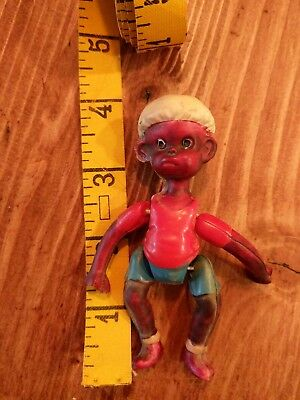 Vintage African American Celluloid Boy Made in Japan