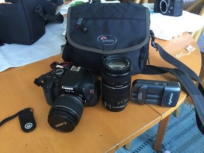 Canon EOS Rebel T3i / EOS 600D 18.0MP DSLR Camera - Bundle