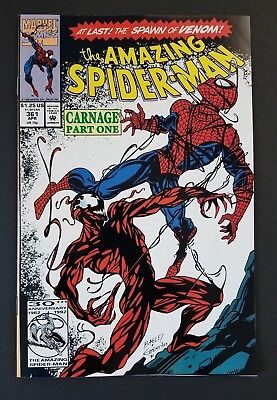 Amazing Spider-Man #361 • 1St Carnage • Nm- (9.2) Or Better • Infinity War