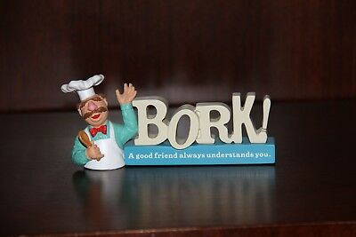 "Hard to Find Disney Muppet Hallmark Swedish Chef Figuring ""BORK"" - 2015"