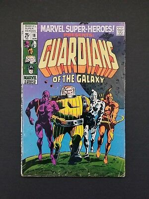 Marvel Super-Heroes #18 • 1St Guardians Of The Galaxy • Nice Vg/fn Or Better