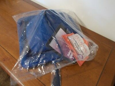 Peeramid Bookrest by Hog Wild. NEW with tags. Royal blue