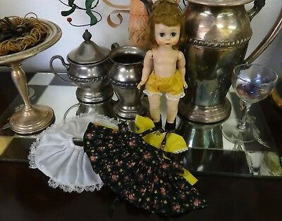 Madame Alexander-kin Wendy Kin doll OUTFIT ONLY Rare Black Pinafore +Dress 1505