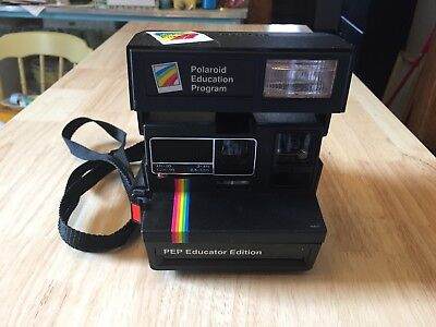 Polaroid 600 PEP Educator Edition Instant Film Camera with Rainbow