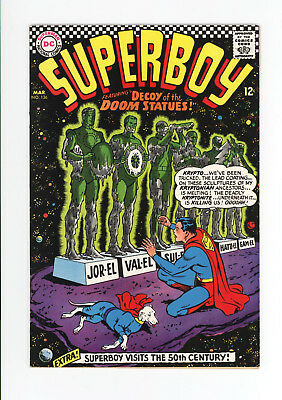 Superboy #136 - Beautiful High Grade Vf+ 8.5 - Fantastic Cover! 1967