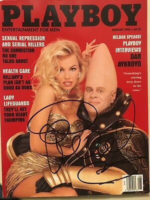 Pam Anderson Autographed Playboy Magazine August 1993