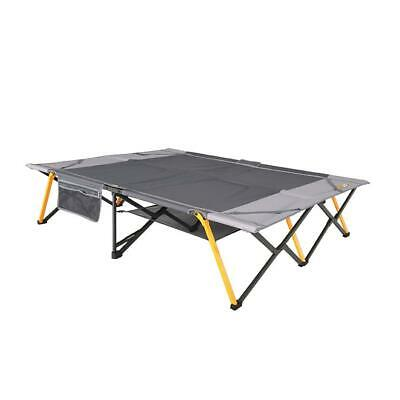Oztrail Easy Fold Stretcher Queen Size Camping Camp Bed New Model 2019