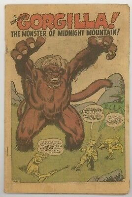 Tales to Astonish #12 coverless monster book. Kirby. Ditko.