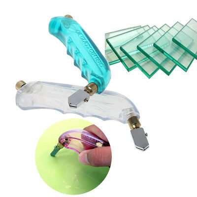 Pistol Grip 0iled Glass Cutter Tungsten Carbide Stained Glass Cutting tool NEW