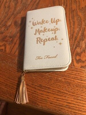 Too Faced Limited Edition Wake Up Makeup Repeat Agenda Cover/agenda