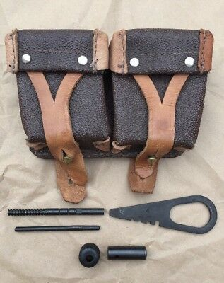 ONE (1) Mosin Nagant Accessories, Rifle Tools And Ammo Pouch NOS Unissued WWII