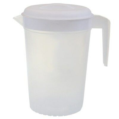 3 pcs Plastic Water Jug Set with Lid 2L Water Pitcher For Fridge BPA FREE
