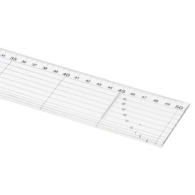 5x50cm Plastic Ruler Quilt Patchwork Template Quilting Sewing Crafts Tool