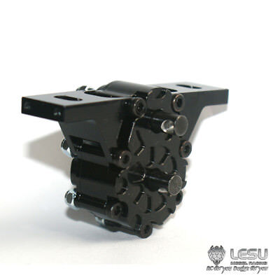LESU 1/2 Metal Transfer Case All-Wheel Drive for 1/14 TAMIYA RC Tractor Truck