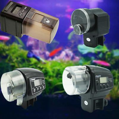 New Digital LCD Auto Automatic Fish Food Feeder Pond Aquarium Tank Feeding Timer