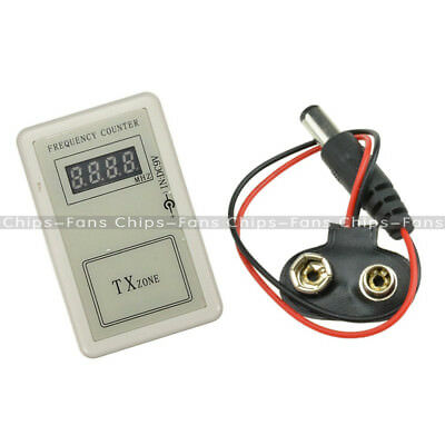 Remote Control Frequency Counter RF Detector Tester Checker for Auto Car Meter