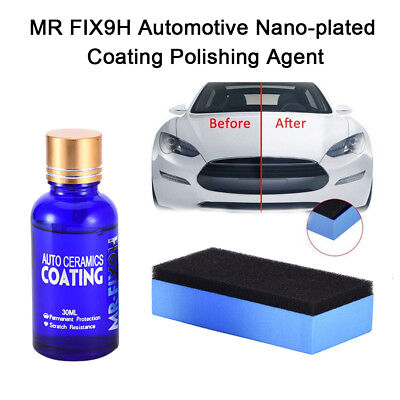 Anti-scratch Car Liquid Ceramic Coat Super Hydrophobic Glass Coating Car Polish,