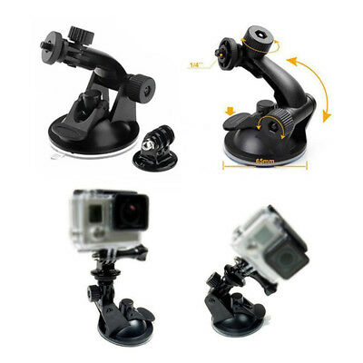 Car Windshield Suction Cup Mount Tripod Adapter Camera For GoPro HD Hero 2 3 HS1