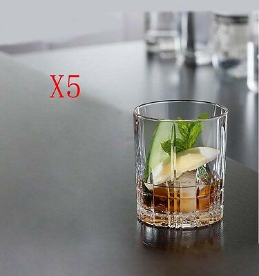 New 5X Capacity 368ML Height 100MM Transparent Whisky Wine Glass/Glassware %