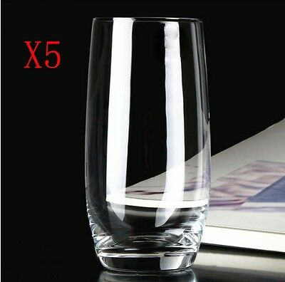 New 5X Capacity 420ML Height 142MM Transparent Whisky Wine Glass/Glassware %