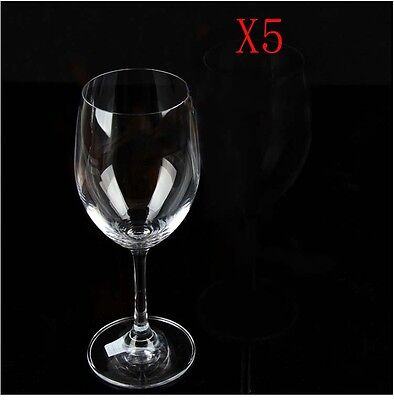 New 5X Capacity 350ML  Height  201MM  Transparent  Red Wine Glass/Glassware %