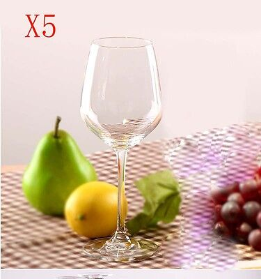 New 5X Capacity 518ML  Height  223.8MM  Transparent  Red Wine Glass/Glassware %