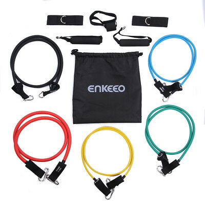 Exercise Fitness GYM Widerstandsband Training Resistance Bands Expander Set