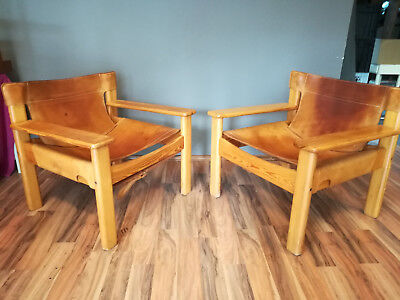 2 x sessel loungechair BERNT PETERSEN 1960er-jahre vintage 60s 70s