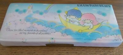 Vintage Sanrio 1976 Little Twin Stars Pencil Case in  Very Good Condition!