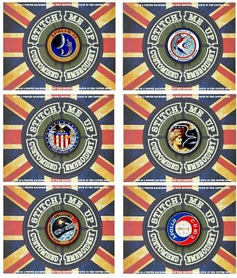 "One ""Tiv"" Patch Of Our Cosplay, Movie  Tv Range: Nasa Apollo Mission Inspired"