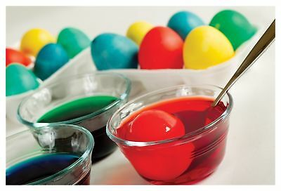7 Colorful Paints For Dyeing The Easter Eggs - 6 different colours!