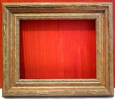 """STANDARD 11 X 14 PICTURE FRAME CLASSIC Carved GOLD LEAF 3"""" WIDE w/ allowance"""