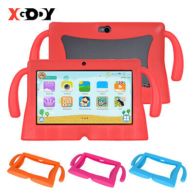 7 ZOLL ANDROID TABLET PC KINDER CHILDREN TAB 8GB QUAD CORE 2xKAMERA WLAN XGODY